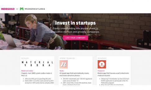 Indiegogoが投資型クラウドファンディングスタートから1周年を記念したデータを公開